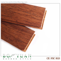 Cheap brushed bamboo indoor timber flooring ,FSC certificate passed