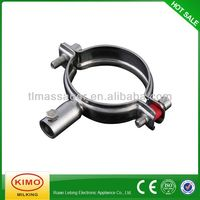 Made in China Galvanized Pipe Connection Clamp