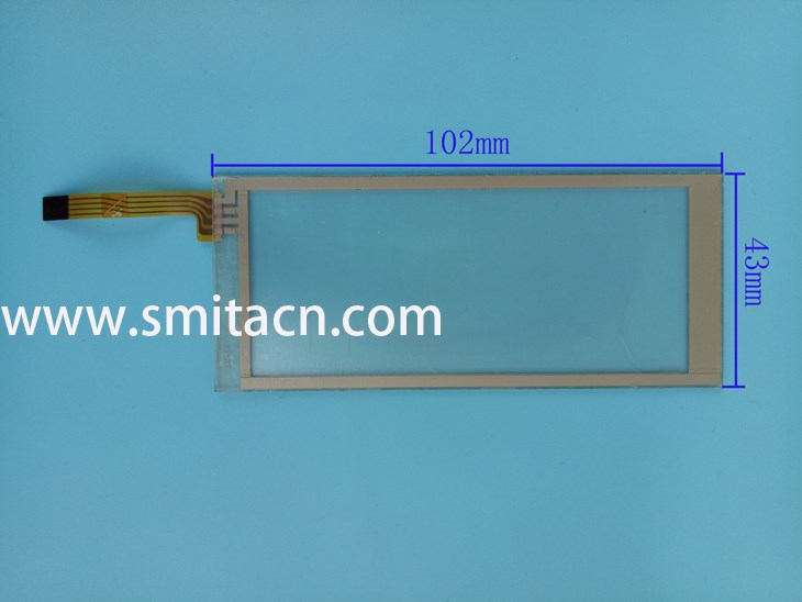 Touch screen 102x43mm 102043 A digitizer replacement glass panel