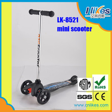 kick mini big wheel pedal scooter