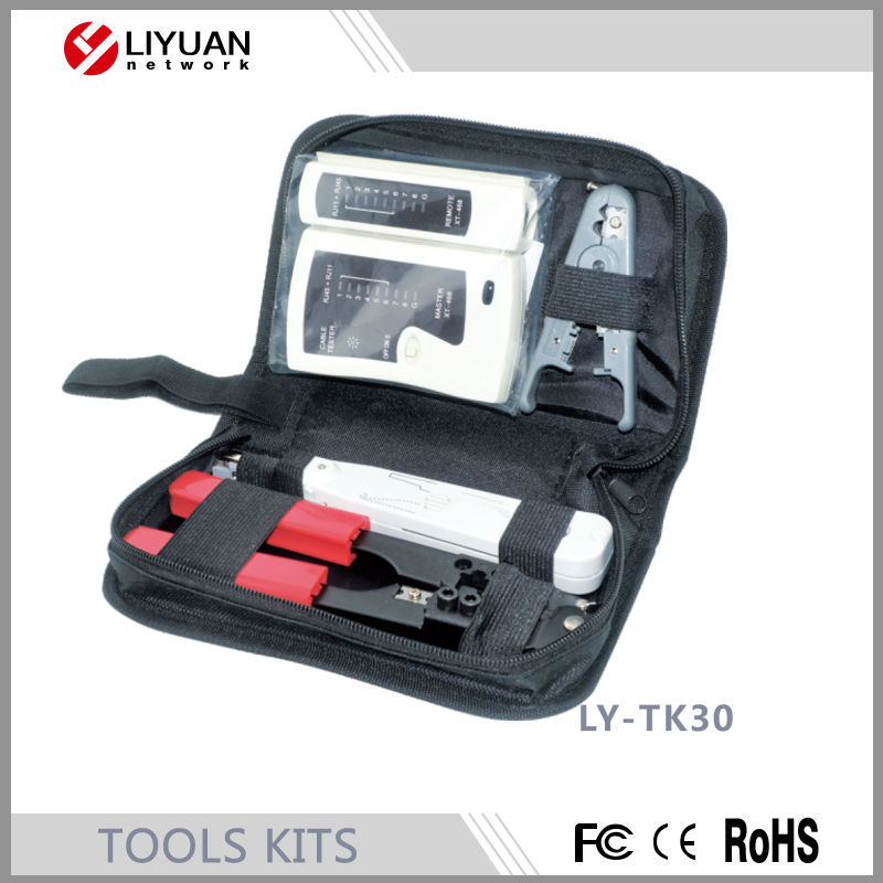 LY-TK30household hand tool set gift high quality tool kit in Component storage box