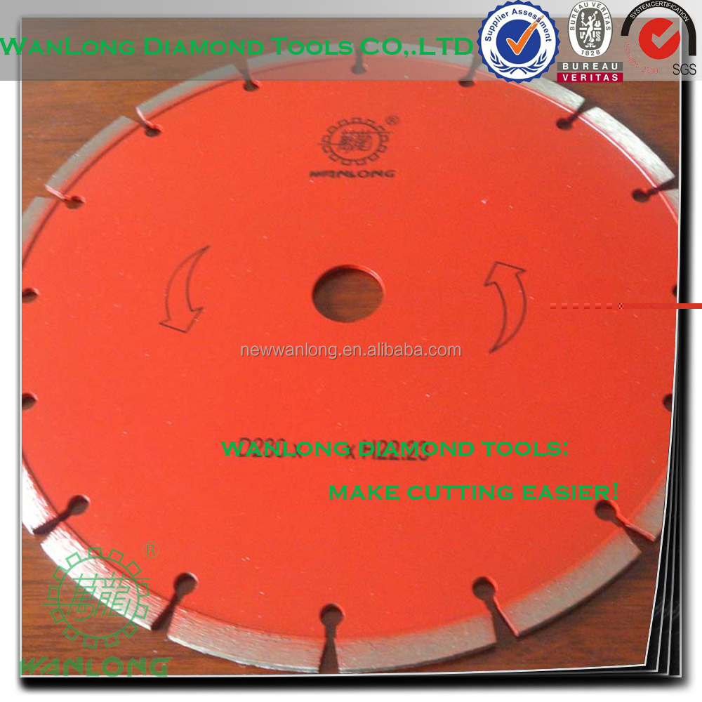 high quality 180mm cutting disc for die grinder used for stone concrete asphalt tile cutting
