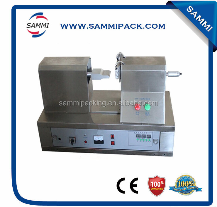 Cosmetics and toothpaste soft plastic tube ultrasonic tub sealing machine