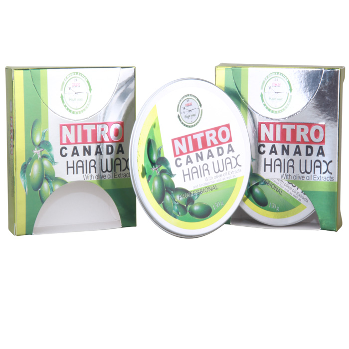 OEM Factory Supply Fashion 150ml Fruit Smell Strong Hold Nitro Hair Wax