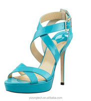 JUSITY 2015 Cyan summer sandal for girls and sandal king