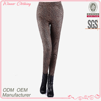 OEM/ODM Trendy Style Leopard Prints Fancy Capris Pants