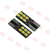 New 12 volt automotive led lights / canbus 12v / 2835 led T10 W5W 194 501 canbus led light error free indicate car lamp