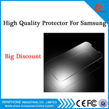 Smart phone tempered glass screen protector For Samsung Note2 Very hot Seling with Best quality