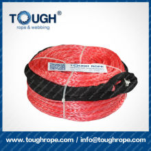 TOUGH ROPE synthetic 4x4 winch rope with hook thimble sleeve packed as full set ( SYNTHETIC WINCH ROPE)