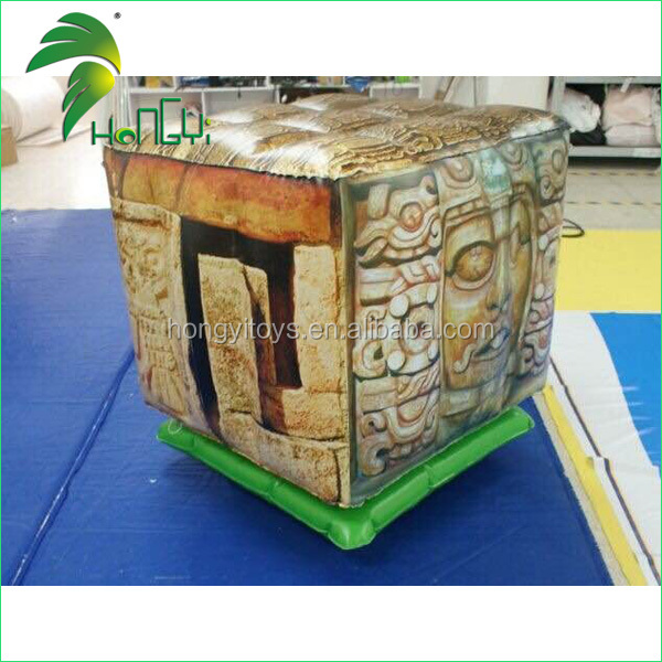 customized inflatable square shape jumping cube/inflatable jumping bounce