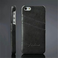 Credit card holder case for iphone 5 cell phone case card holder