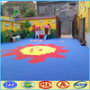Made in china outdoor plastic playground floor tile