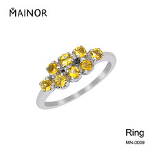 Cheap Jewelry Citrine Rings Wedding and Engagement Rings