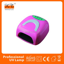 Professional Gel Curing 36w UV nail lamp with removable base for nail dry KT-838