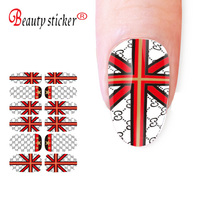 Wholesale fashion 3D Metallic artificial nail design