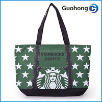 China supplier cheap price but high quality canvas tote bag for coffee pacakge