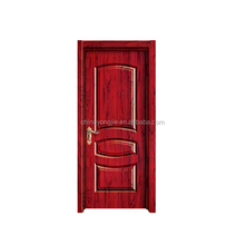 Hot sale good quality Open Style Swing pvc frosted glass bathroom door