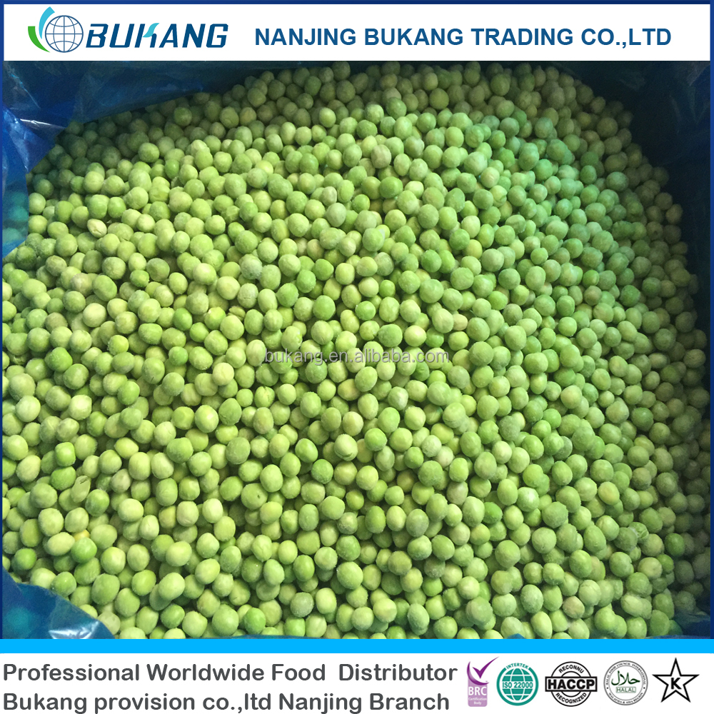 IQF Vegetables Frozen green peas top quality best price