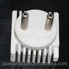 Industrial Insulator 95% Alumina Ceramic Heat Sink for Thermoelectric Cooling System