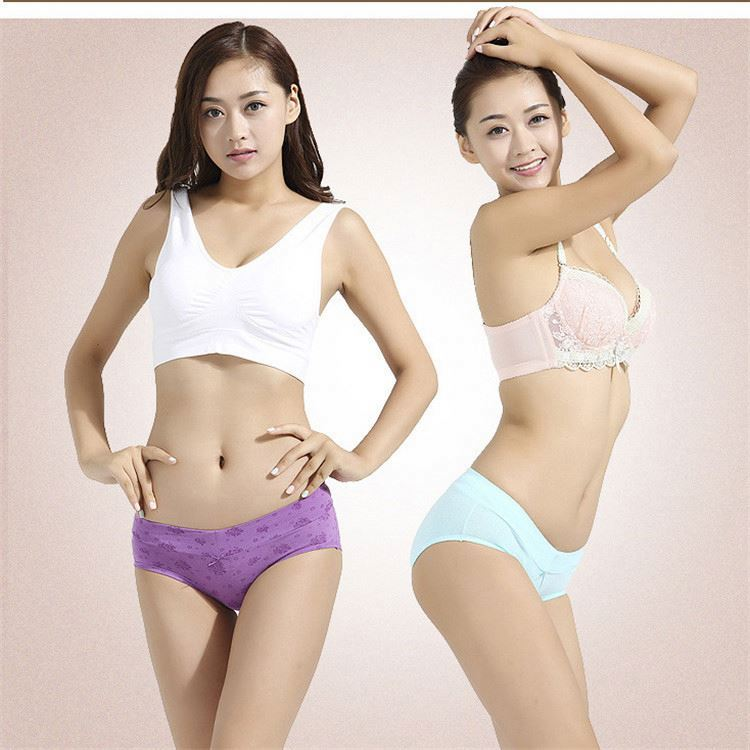 Wholesale new model lady panties free sample woman underwear with cheap price