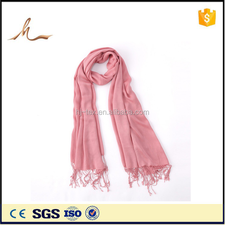 multifunctional polyester pink women head scarf made in p.r.c