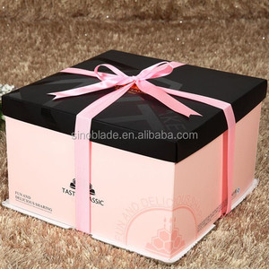 Food Packing Customer Design Colorful Paper Cake Box