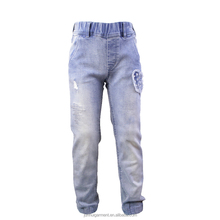Fashion Girls Pants 100% Cotton Trousers Softshell Trousers for children