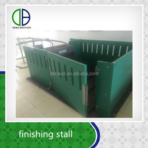 PP finishing stall new material poultry livestock pig farming equipment