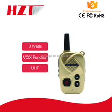 Light and portable radio transceiver U band 16channels