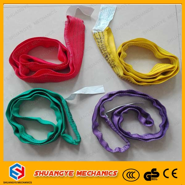 beautiful coler flexible round lifting belt