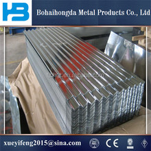 SGCC DX51D SGLCC Hot Dipped Corrugated Galvanized / Galvalume / Zincalume Steel Sheets Metal Roofing