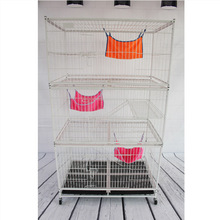 Folding strong wire gauge foldable wire cat cage animal cage