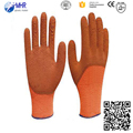 MHR different colors coated industrial latex gloves