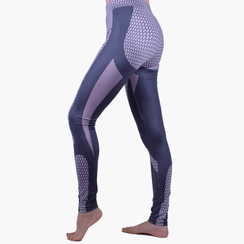 Fashion Elegant Womens High Waist Workout Compression Leggings
