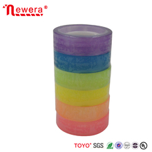 Colored bopp adhesive stationery tape