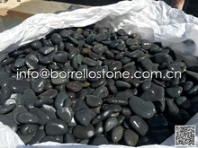 Natural Black Flat Pebble