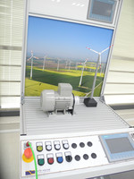 Hot New Energy training system for wind power