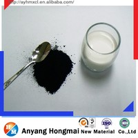 Easy dispersible and blackness granular and powder pigment carbon black