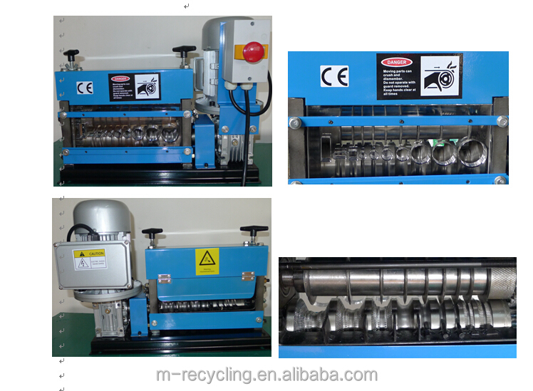 MSY-40DMG scrap wire peeling machines, cable stripper cable pulling machine