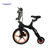 Women easy folding mini fat tire electric bike