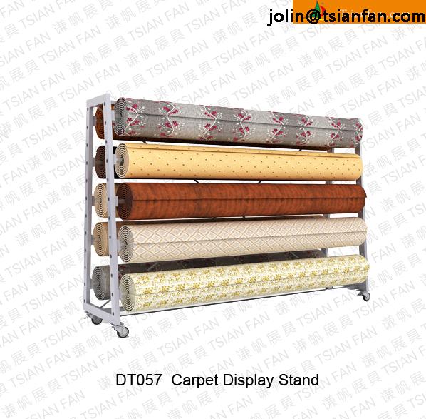 Dt057 Carpet Rug Display Rack / Roll Carpet Display Rack