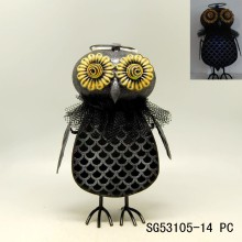 metal owl ornaments halloween product