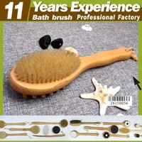 11 year experience factory professional top quality hot sales Eco-Friendly massage brush back bath brush