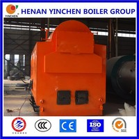 Coal fired chain grate stoker 1000kg/hr industrial steam boiler