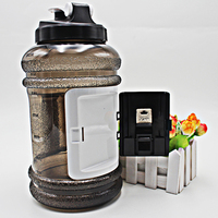 wallet gym water bottle wide mouth 2.2 litre shaker shaker water bottle for protein drinks