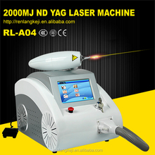 Christmas promotion !!! q switch nd yag laser/beauty salon equipment/Laser tattoo removal Pigment Removal machine factory price