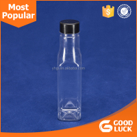 12 Oz clear empty plastic bottle for beverage bottle