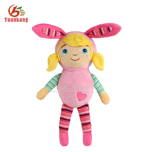 Wholesale Cute Little Girl Love Doll with Rabbit Clothes