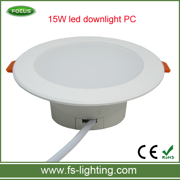 New good price 15W led <strong>downlight</strong> PC 2835 smd led <strong>downlight</strong> cool white warm white natural white