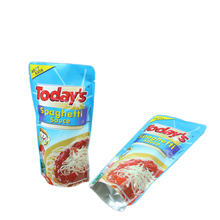 Self heating food pouch bag/decorative food bags